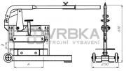 Lámačka dlažby MIMAL GKM300