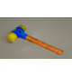 Gumová palice MIMAL 1,6kg MB11 mekčená guma