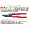 Nůžky na kabely KNIPEX 200 mm