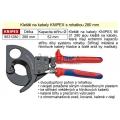 Nůžky na kabely KNIPEX s rohatkou 280 mm