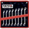 Klíče očkové sada 8 kusů 6-22mm CrV Yato YT-0396
