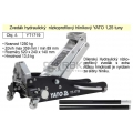 Zvedák hydraulický podjezdový nízkoprofilový Alu 1,25 t YATO